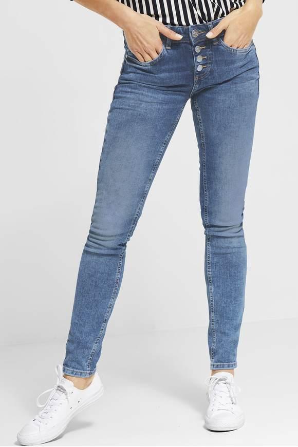 5696ac4b7118 Slim Fit Jeans für Damen bei Street One entdecken