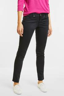 Basic slim fit-broek Yulius