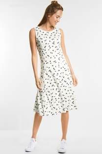 Schlichtes Print Kleid