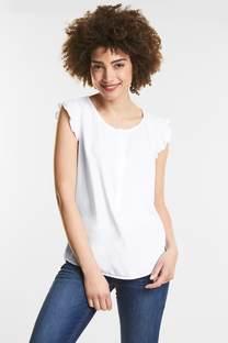Volanttop in blousestijl