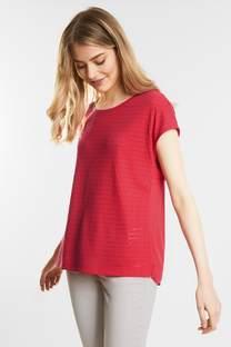 Shirt met gaatjeslook