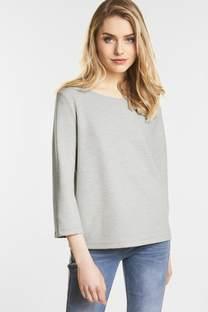 Struktur-Streifen Shirt Desi