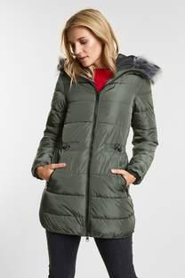 Gewatteerde nylon jas