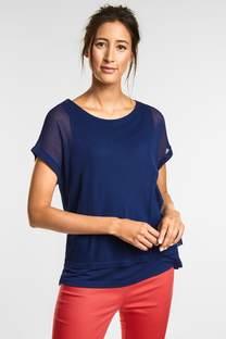 Zweilagiges Mesh Shirt