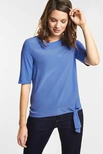 Sportief shirt met strik