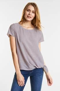 Luchtige gestreepte blouse