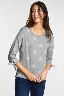 Feminines Sterneprint Shirt