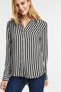 Lichte gestreepte blouse