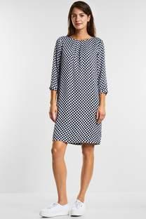 Feminines Punkteprint Kleid