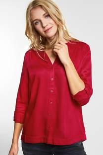 Lange blouse met knopen