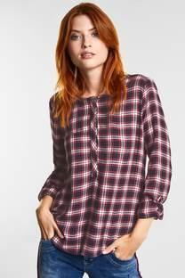 Geruite blouse Vivian