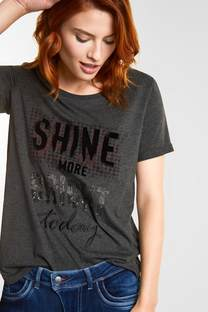 T-shirt imprimé décontracté
