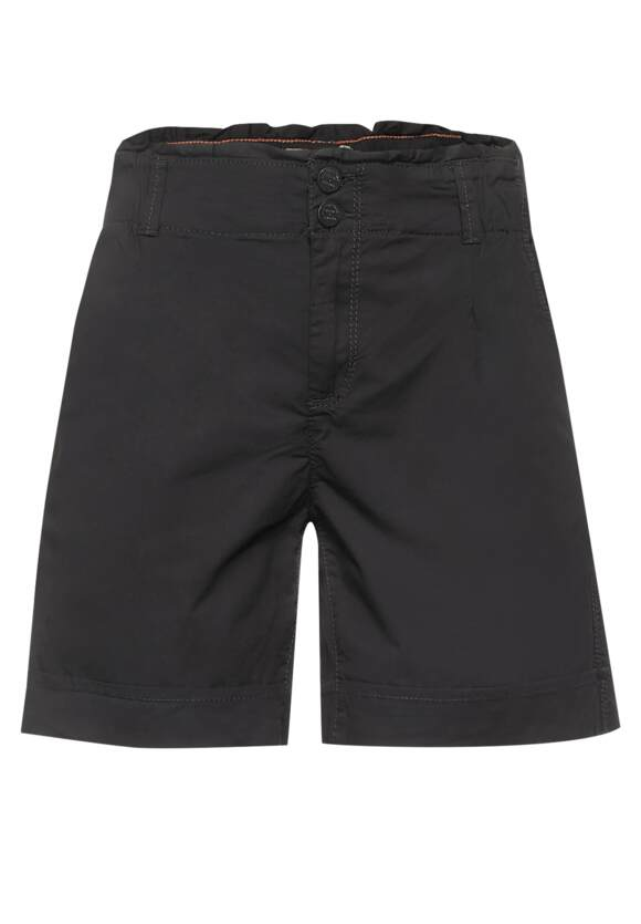 Paperbag bermuda shorts