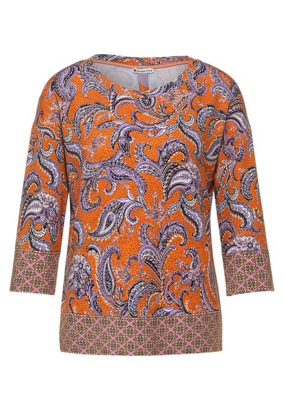 Street One Shirt met paisley-patroon
