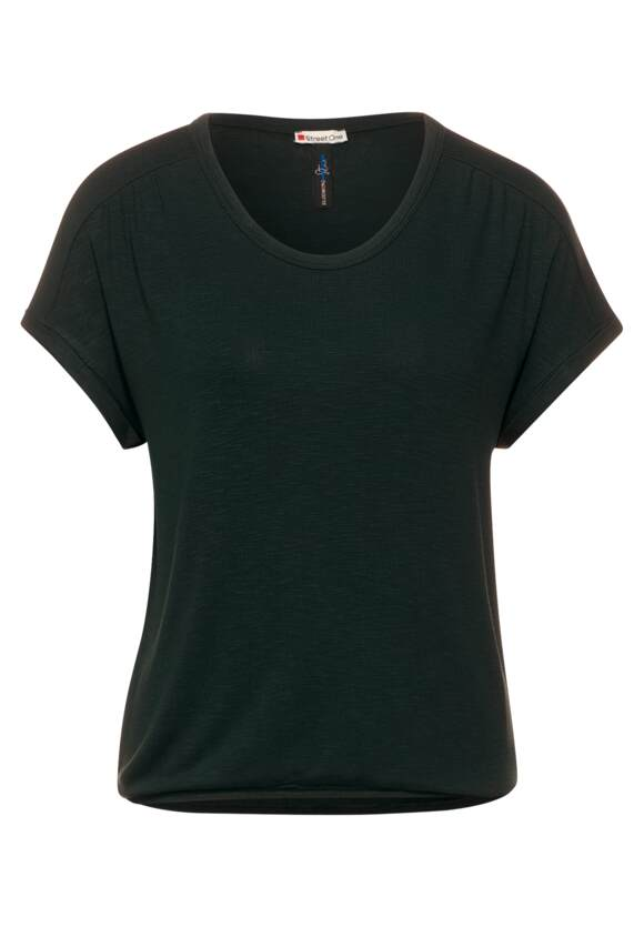 Street One Shirt met geplooide schouders