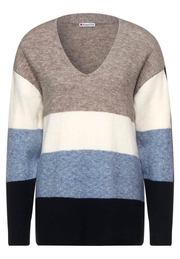 Lang gestreepte pullover