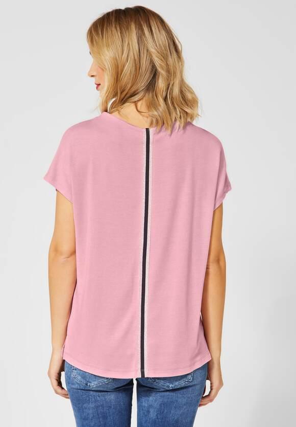 Casual Looks Pullover Mit Stehkragen Orchidee