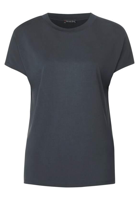 Street One Lockeres T-Shirt Indra in Thyme Jade