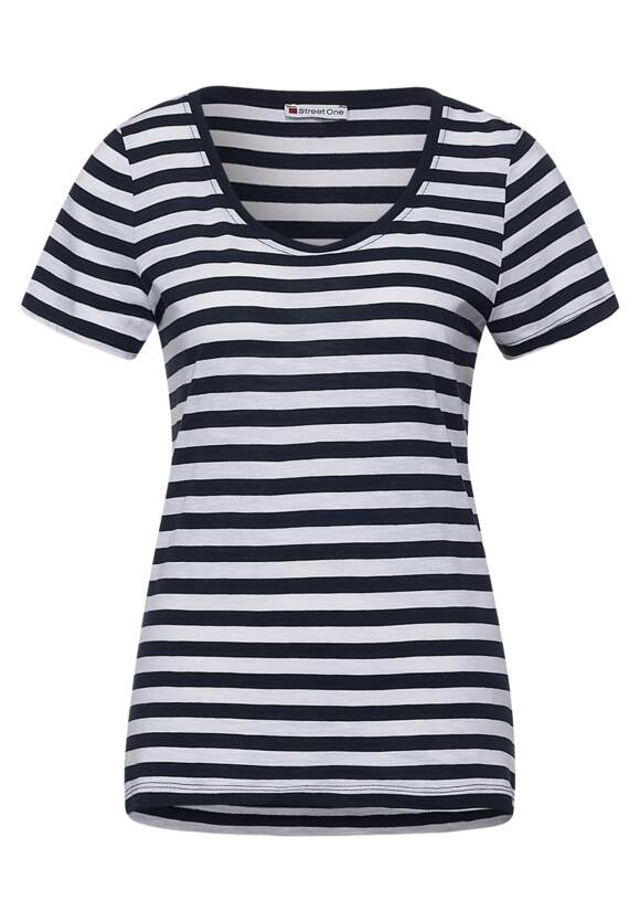 Image of Basic-Shirt mit Streifen