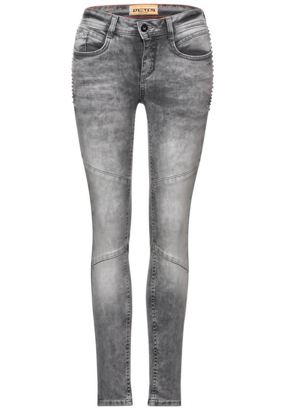 Slim fit spijkerbroek in 7 8 lengte