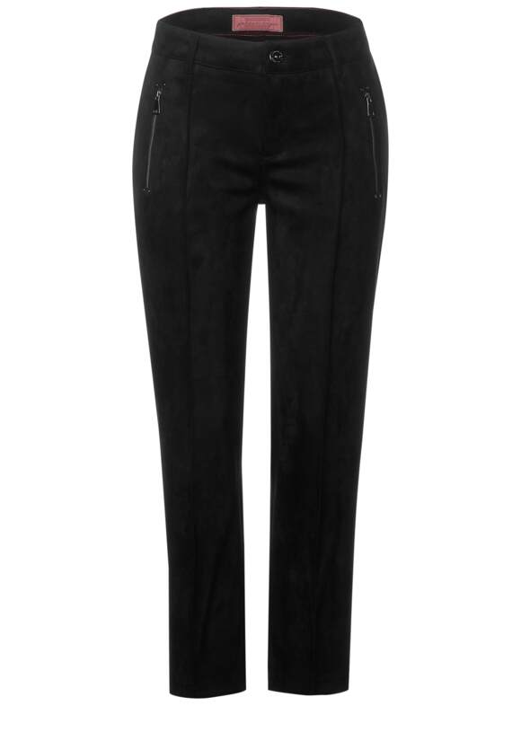 Street One Suède broek in slim fit