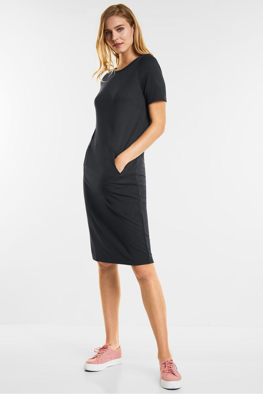 Lässiges Jersey Kleid - neo grey