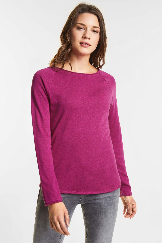 T-shirt doux Mina - dark electric pink